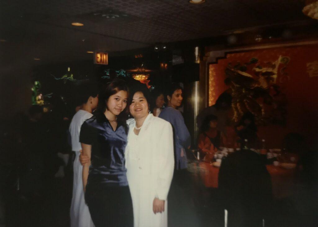 Diana with Annie