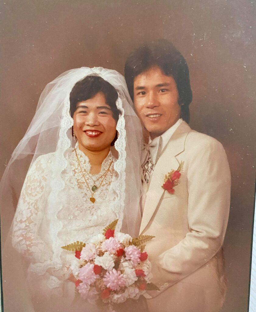 Wedding picture 1983