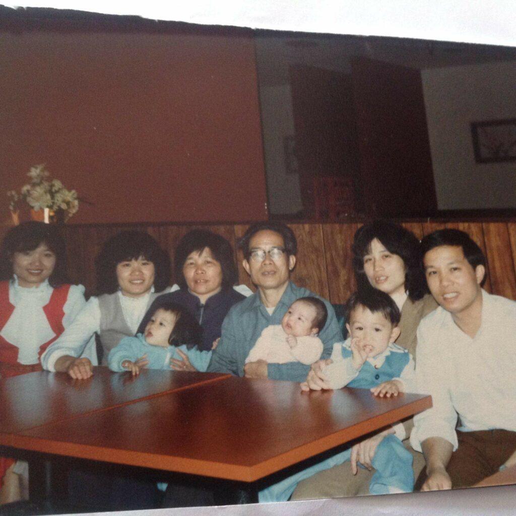 Family gathering 1985